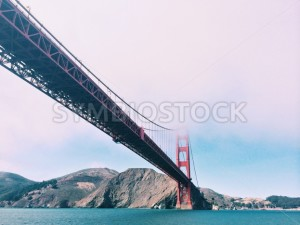 Golden Gate Bridge on a Cloudy Day - Symbiostock Express Demo