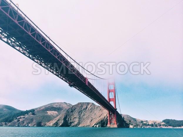 Golden Gate Bridge on a Cloudy Day - Symbiostock Express Demo
