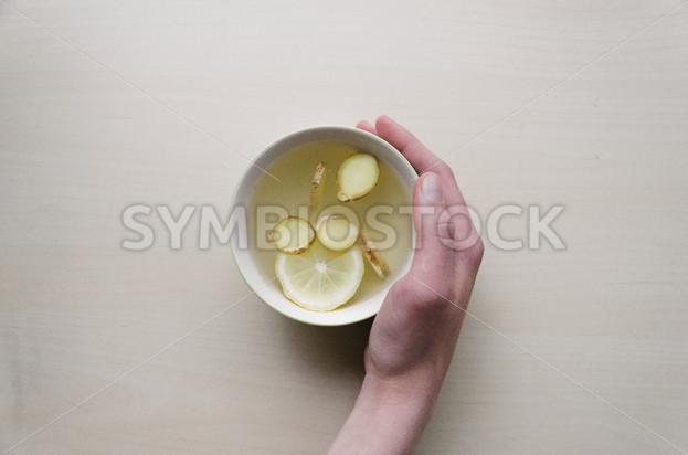 Herbal Lemon Tea - Symbiostock Express Demo