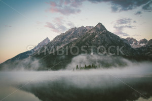 Mountain Surrounded by Fog - Symbiostock Express Demo