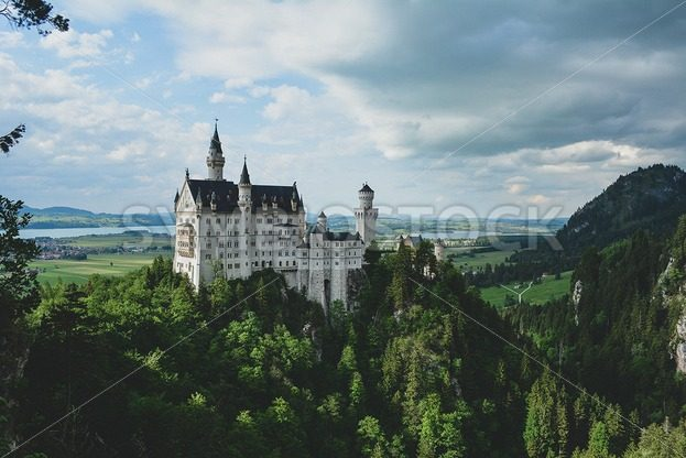 Castle Neuschwanstein - Symbiostock Express Demo